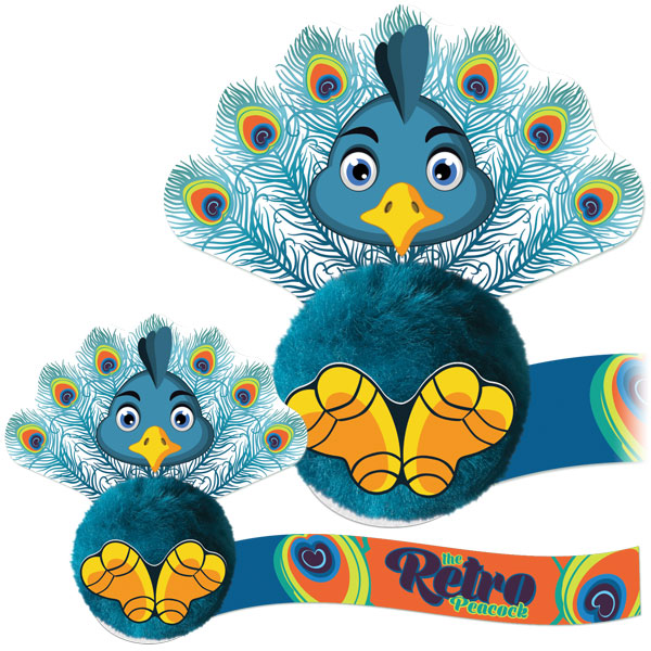 Peacock Logobug