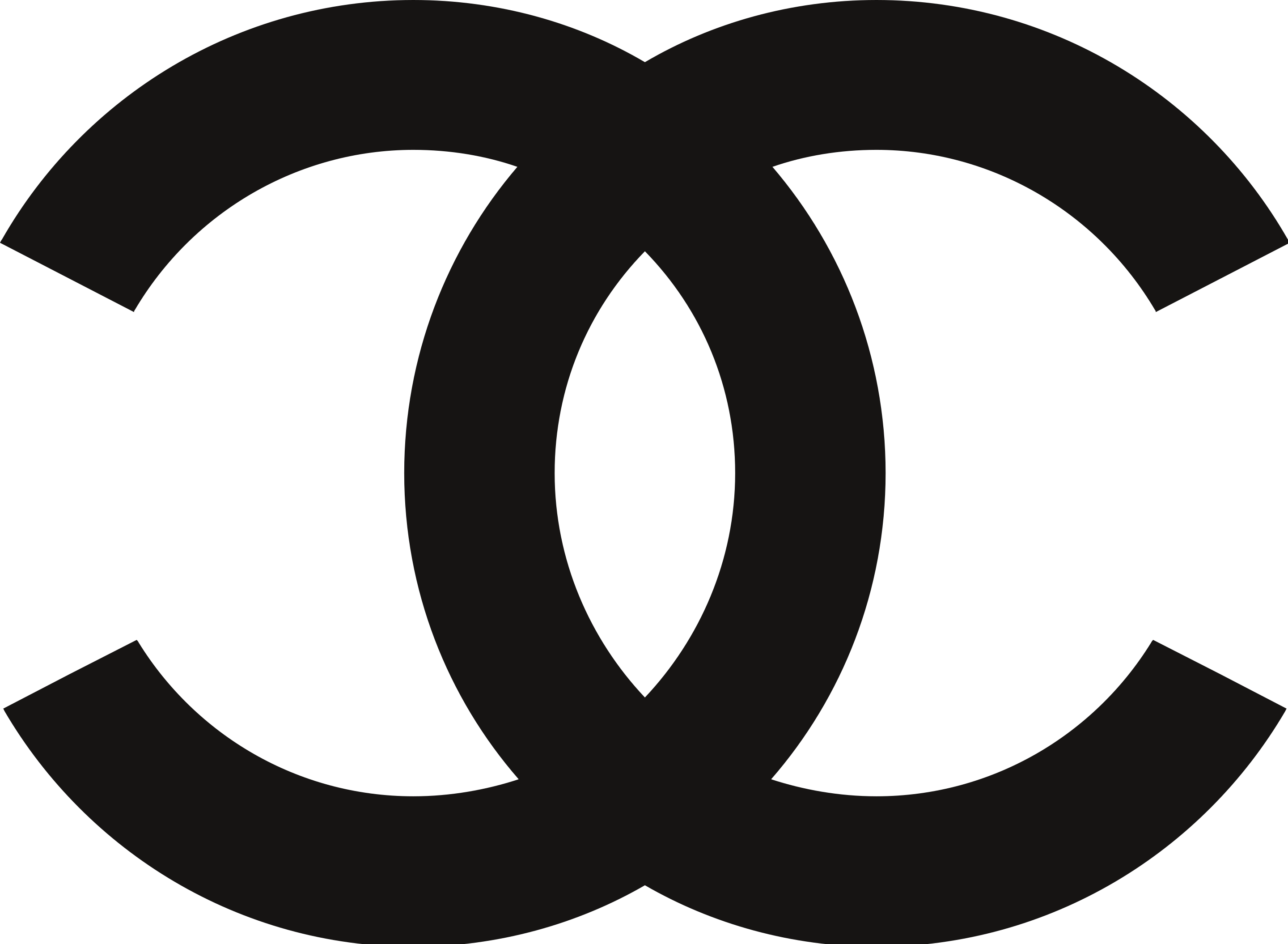 Chanel is famed for its interlocking Cs logo - in black, of course!