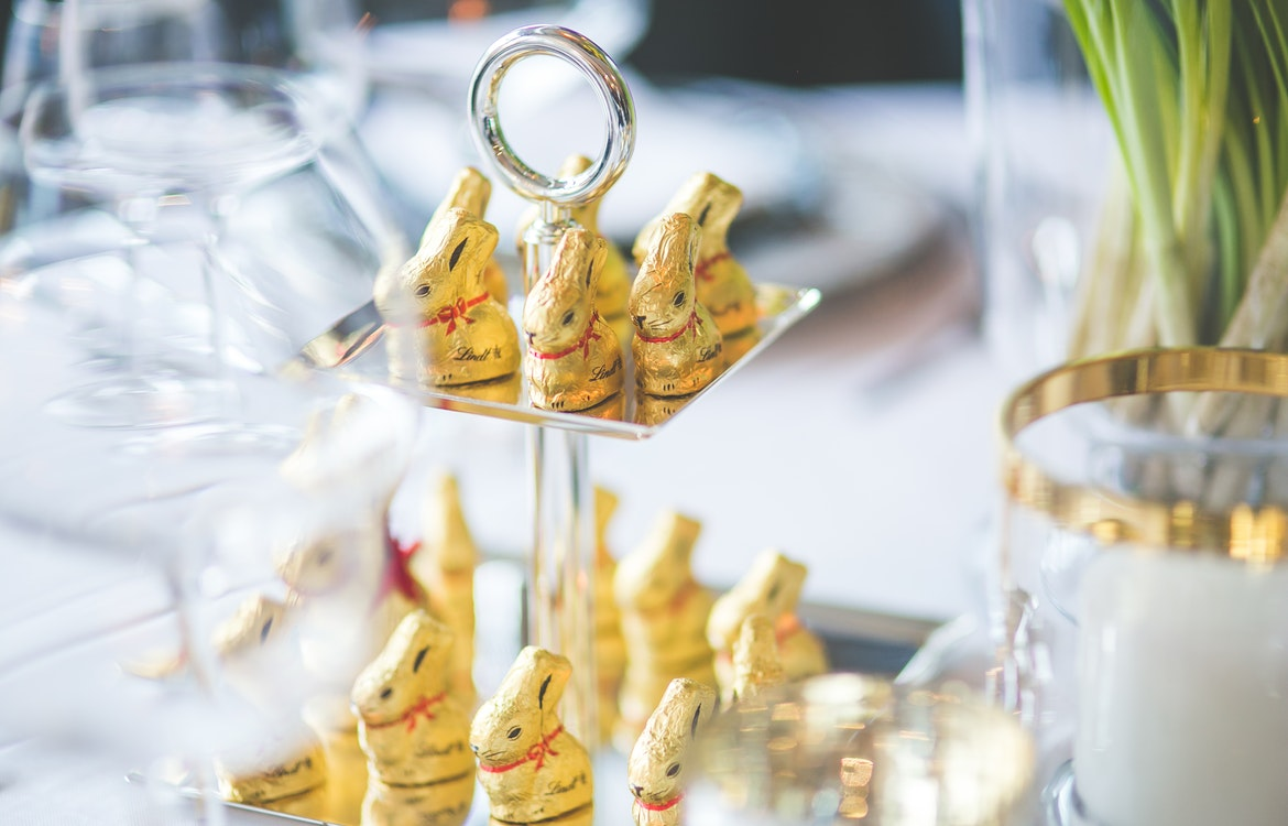 Lindt gold easter bunnies