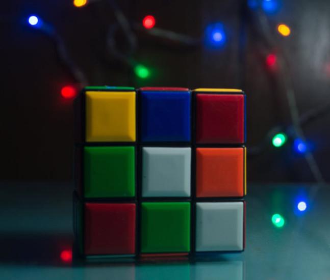 branded Rubik's cubes for promotional giveaways