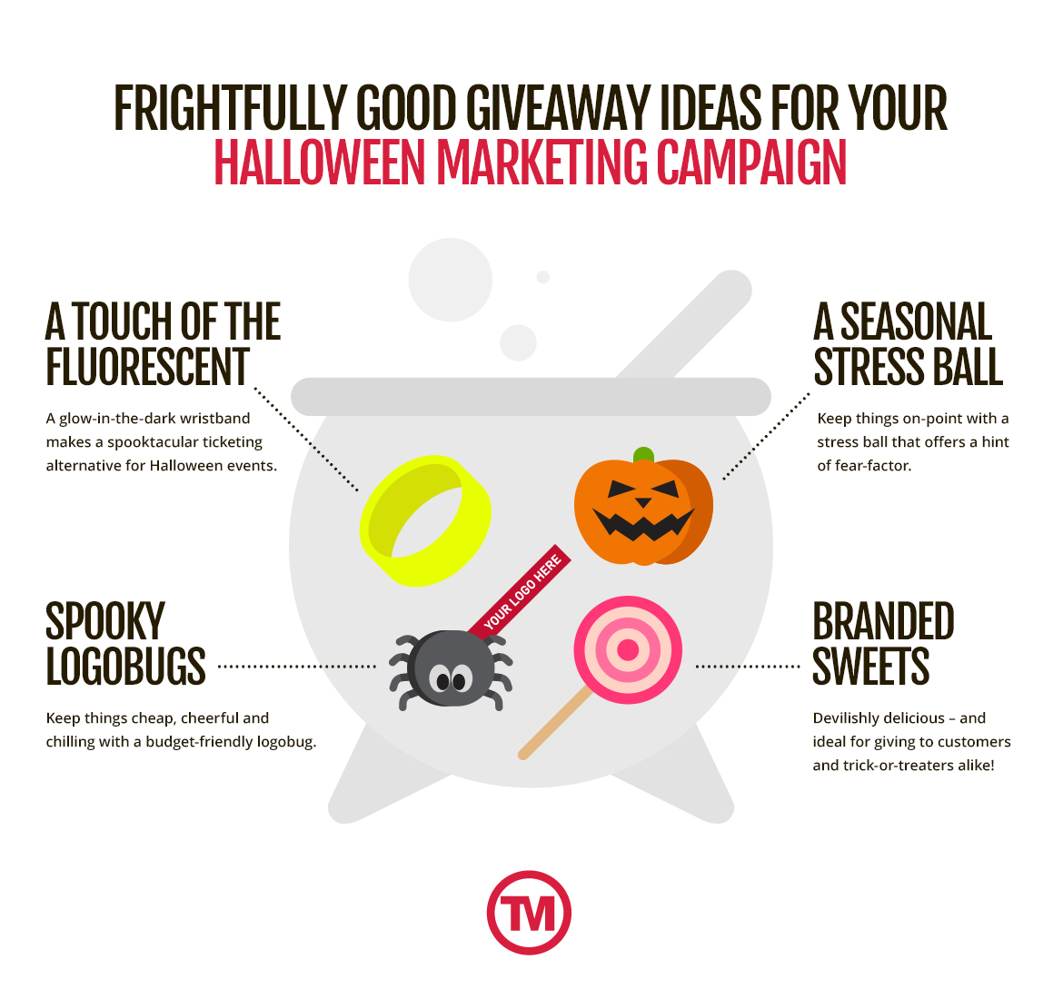 Halloween themed promotional products