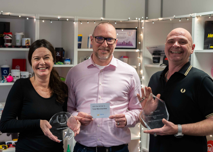 Total Merchandise wins Distributor of the Year 2019 and 2020