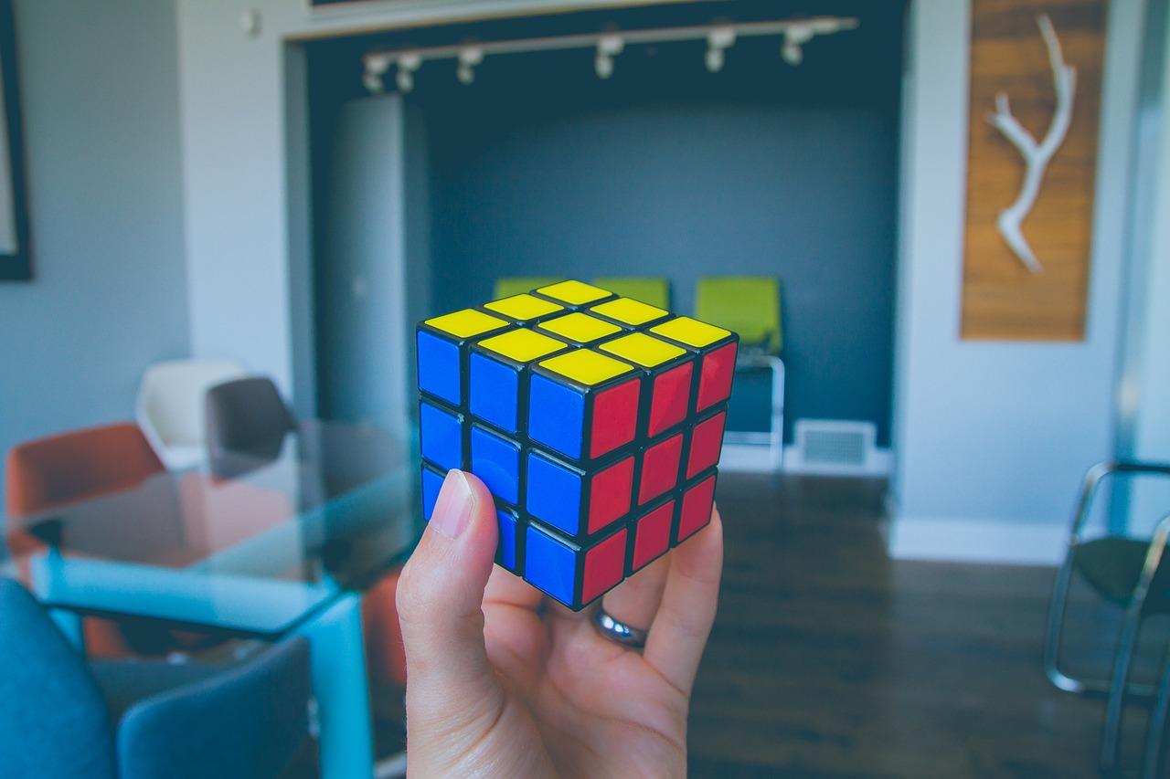 Custom Rubik's cubes for UK businesses