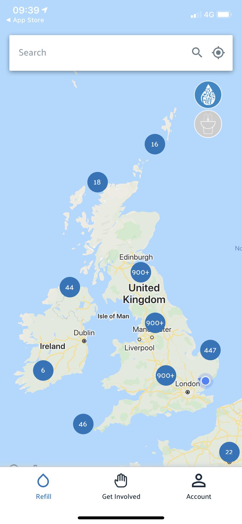 Refill Stations UK
