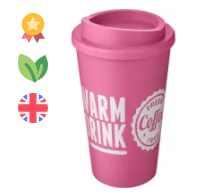 Americano Coffee Cups in Pink