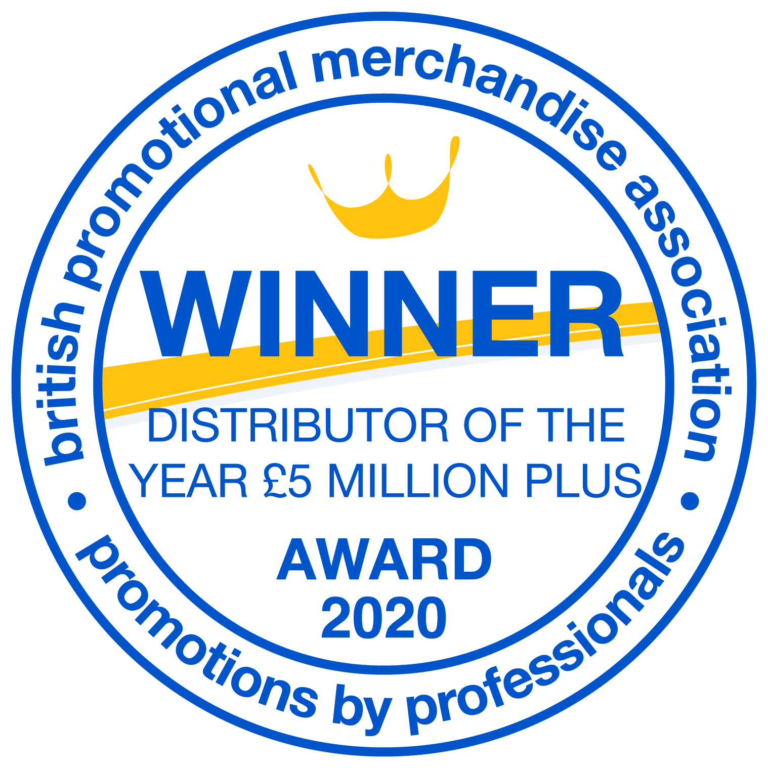Total Merchandise wins Promotional Merchandise Distributor of the Year 2020