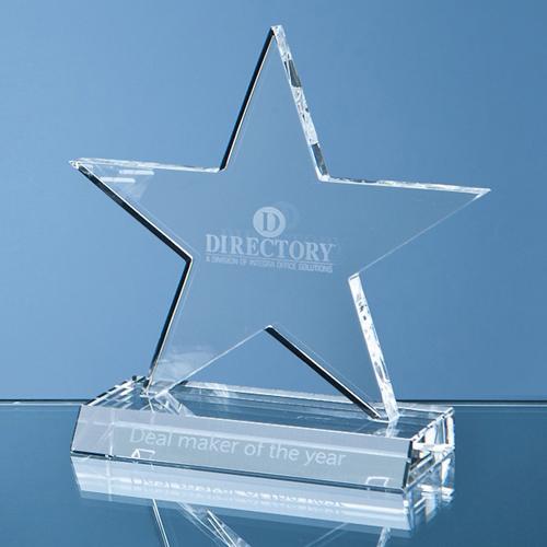 11cm Optical Crystal Star Award