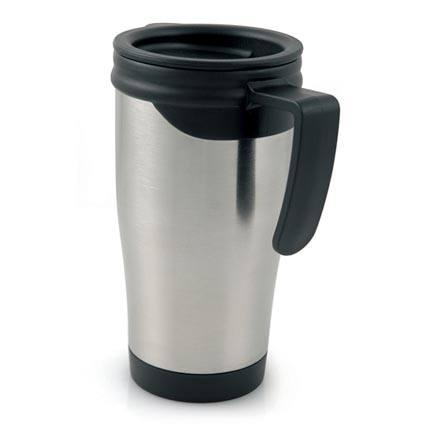 Dali stainless steel travel mugs printed travel mugs - Travel mug stainless steel interior ...