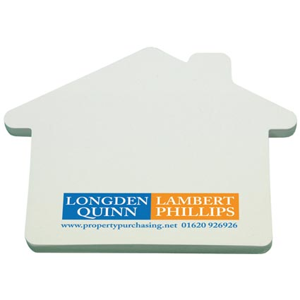 Promotional Special Shaped Sticky Notes for desks