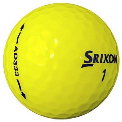 Srixon ad333 golf balls printed golf balls for Fish food golf balls