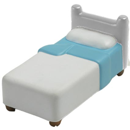 Stress hospital bed printed business gifts all stress - Mattress made of balls ...