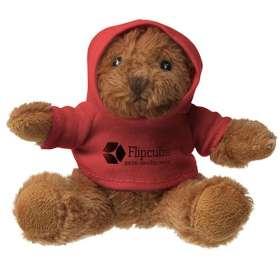 10cm Hooded Teddy Bears