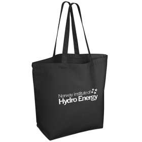 Product Image of 10oz Black Canvas Shopping Bags