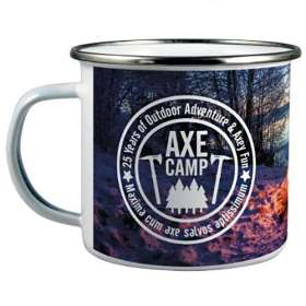 11oz Enamel Mugs