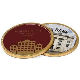125mm Chocolate Medallions