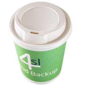 Product Image of 12oz Double Wall Paper Cups with Lids