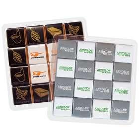 16 Piece Chocolate Neapolitan Trays