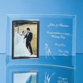 4 x 6 Bevelled Glass Crescent Frames
