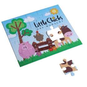 20 Piece Card Puzzles