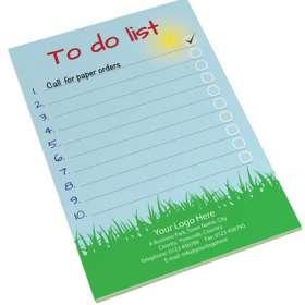 25 Sheet A5 Notepads