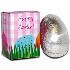 Printed chocolate personalised easter gifts branded chocolate 30g easter eggs full colour items negle Gallery