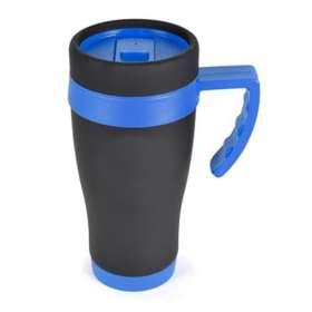450ml Oregan Matt Black Travel Mugs