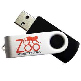 4GB Express Twist USB Flashdrives