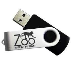 8GB Express Twist USB Flashdrives