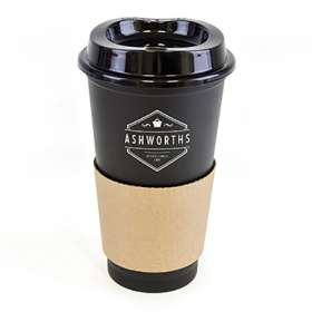 500ml Paper Sleeve Take Away Mugs