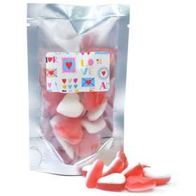 50g Packet of Jelly Hearts