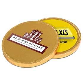75mm Chocolate Medallions