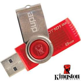 8GB Kingston 101 G2 USB Flashdrives