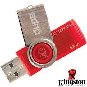 8GB Kingston 101 G2 USB Flashdrives