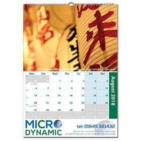 A3 Traditional Wall Calendars