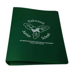 Product Image of A4 Polypropylene Ring Binders