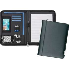 A4 Smart Fordcombe Leather Zipfolios