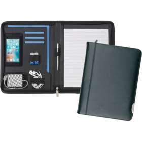 Product Image of A4 Smart Fordcombe Leather Zipfolios