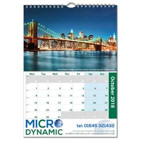 A4 Traditional Wall Calendars
