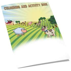 A5 4 Side Colouring Booklets