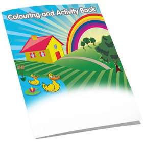 A5 8 Side Colouring Booklets