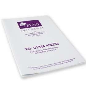 A5 PVC Document Wallets