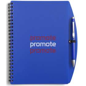A5 Plastic Cover Notebooks