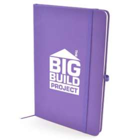 A5 Soft Touch PU Notebooks - extra images