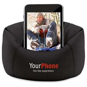 Bean Bag Phone Holders