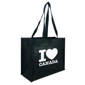 Product Image of Black Taunton Jute Shopper Bags