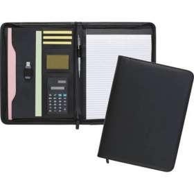 Dartford A4 Zipped Calculator Folders