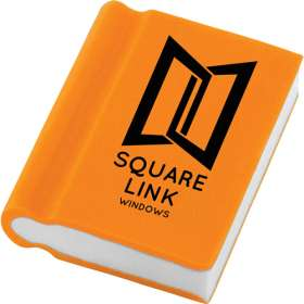 Book Shaped Erasers