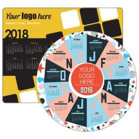 Brite Mat Calendar Mousemats