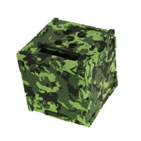 Camouflage Foam Cube Desk Tidies
