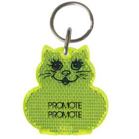 Product Image of Cat Reflector Keyrings